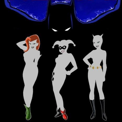 DC superheroine Porn Comics