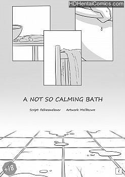 Porn Comics - A Not So Calming Bath XXX Comics