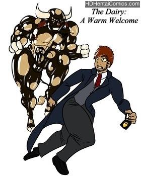 Porn Comics - A Warm Welcome XXX Comics