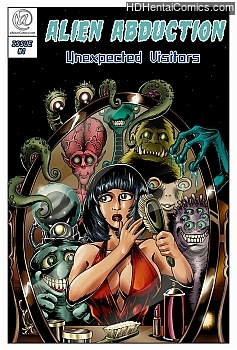 Porn Comics - Alien Abduction 1 – Unexpected Visitors Hentai Manga