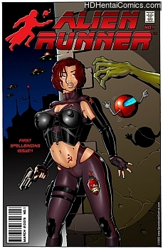 Porn Comics - Alien Runner Sex Comics