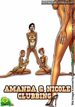 Porn Comics - Amanda & Nicole Clubbing Sex Comics