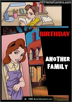 Porn Comics - Another Family 2 – Birthday Hentai Manga