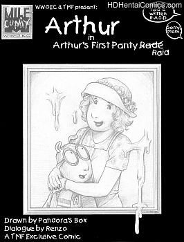 Porn Comics - Arthur's First Panty Raid Hentai Manga