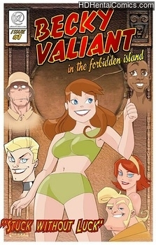 Porn Comics - Becky Valient 1 – Stuck Without Luck Porn Comics