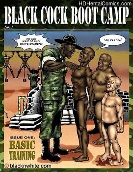 Porn Comics - Black Cock Boot Camp comic porno