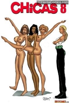 Porn Comics - Chicas 8 adult comic