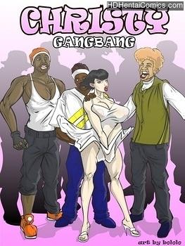Christy Gangbang adult comic