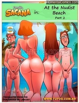Porn Comics - Familia Sacana 12 – At The Nude Beach 2 XXX Comics