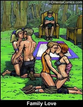 Porn Comics - Family Love Adult Comics