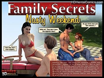 Porn Comics - Family Secrets – Nasty Weekend Porn Comics