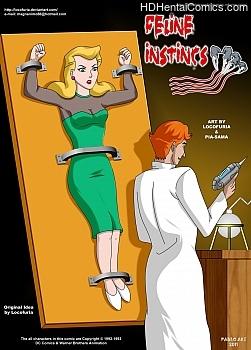 Porn Comics - Feline Instincs Adult Comics