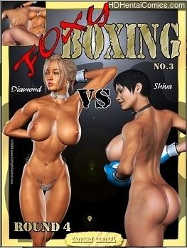 Porn Comics - Foxy Boxing 3 – Diamond Vs Shiva – Round 4 free porno Comic