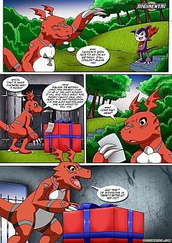 Comic digimon hentai Digimon Hentai