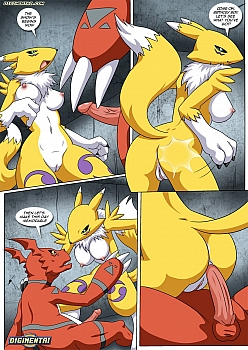 guilmon-s-birthday-surprise010 free hentai comics