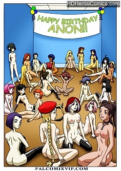 Porn Comics - Happy Birthday Anon Adult Comics