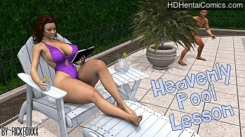 Porn Comics - Heavenly Pool Lesson Adult Comics