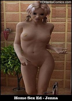 Porn Comics - Home Sex Ed – Jenna Adult Comics