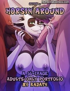 Porn Comics - Horsin' Around comic porno