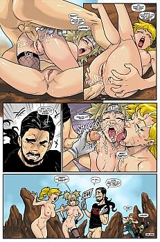 Porn Comics - Hot Duels 1 – Linka VS Temari Sex Comics
