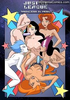 Porn Comics - Justice League 1 XXX Comics