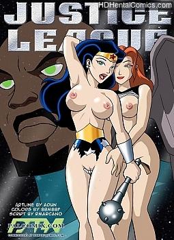 Porn Comics - Justice League 2 XXX Comics