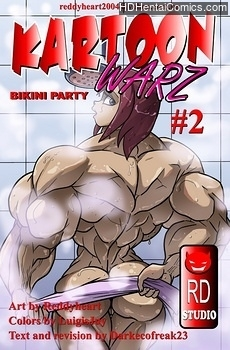 Porn Comics - Kartoon Warz 2 – Bikini Party Comic Porn