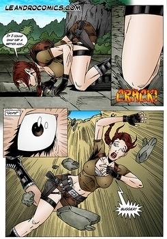 Croft Shemale Lara Cartoon Lara croft,