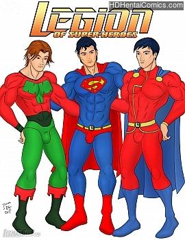 Porn Comics - Legion Of Super-Heroes Porn Comics