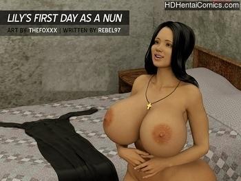 Porn Comics - Lily's First Day As A Nun Hentai Comics