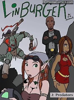 Porn Comics - Linburger 2 – Predators Adult Comics
