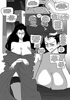 lusting-after-blue-sedai-2004 free hentai comics