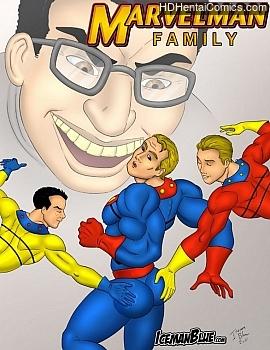 Porn Comics - Marvelman Family Adult Comics