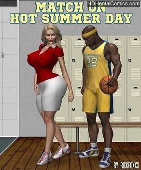 Porn Comics - Match On Hot Summer Day manga hentai