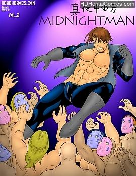 Porn Comics - Midnightman 2 Comic Porn