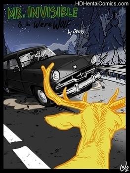 Porn Comics - Mr Invisible & The Werewolf Porn Comics