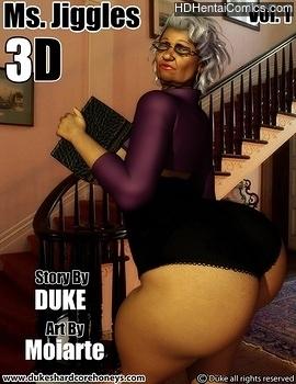 Porn Comics - Ms Jiggles 3D 1 XXX Comics