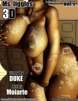 Porn Comics - Ms Jiggles 3D 2 Comic Porn