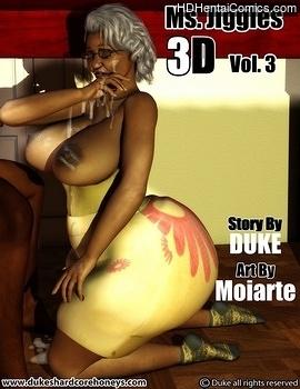 Porn Comics - Ms Jiggles 3D 3 XXX Comics