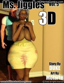 Porn Comics - Ms Jiggles 3D 5 Comic Porn