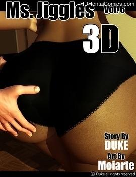 Porn Comics - Ms Jiggles 3D 6 Comic Porn