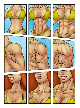 muscle-contest006 free hentai comics