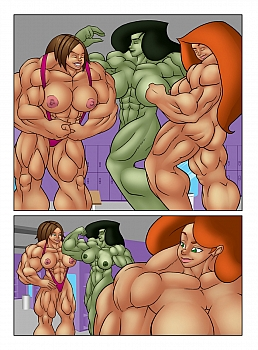 muscle-contest018 free hentai comics