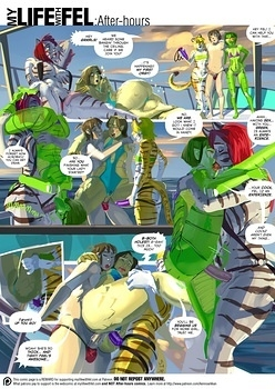 My Life With Fel – After-Hours 8 Porn Comics