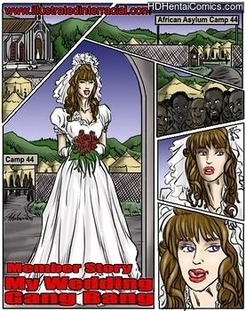 Porn Comics - My Wedding Gang Bang Comic Porn