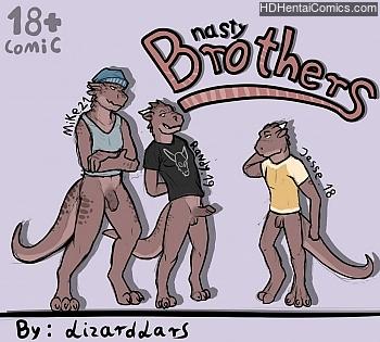Porn Comics - Nasty Brothers XXX Comics