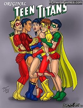 Porn Comics - Original Teen Titans Hentai Manga