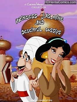 Porn Comics - Princess Jasmine And Deceitful Gossips XXX Comics