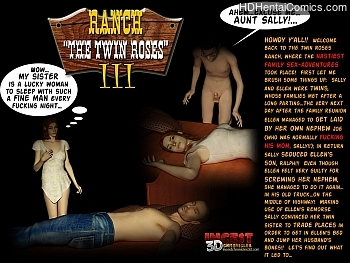 Porn Comics - Ranch – The Twin Roses 3 Hentai Comics