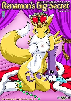 Porn Comics - Renamon's Big Secret XXX Comics